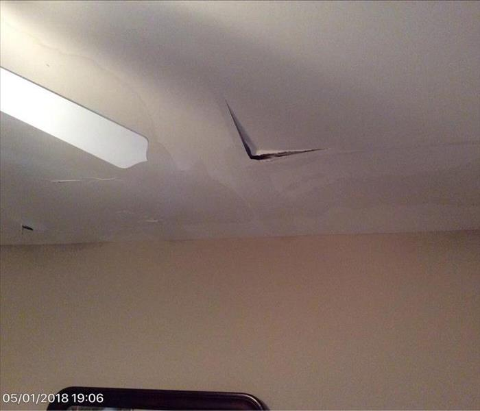 Metairie Water Damaged Ceiling