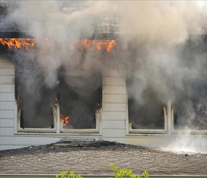 Why SERVPRO In Metairie, Understanding the Nature of Smoke and Heat Simplify Fire Damage Cleanup
