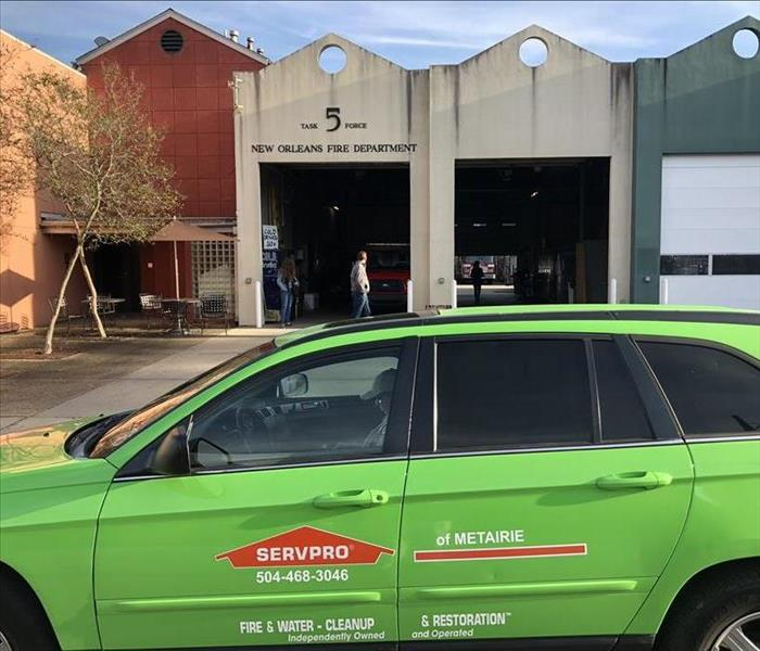Fire Damage Fire Losses Get Special Cleanup Efforts from SERVPRO for Metairie Houses
