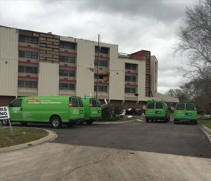 Storm Damage SERVPRO® of Metairie Assists with St. John the Baptist Parish Clean-Up after February Tornado